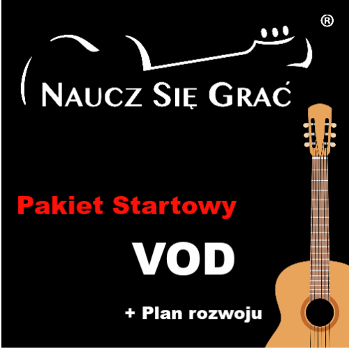 Pakiet startowy Gitara – dostęp roczny