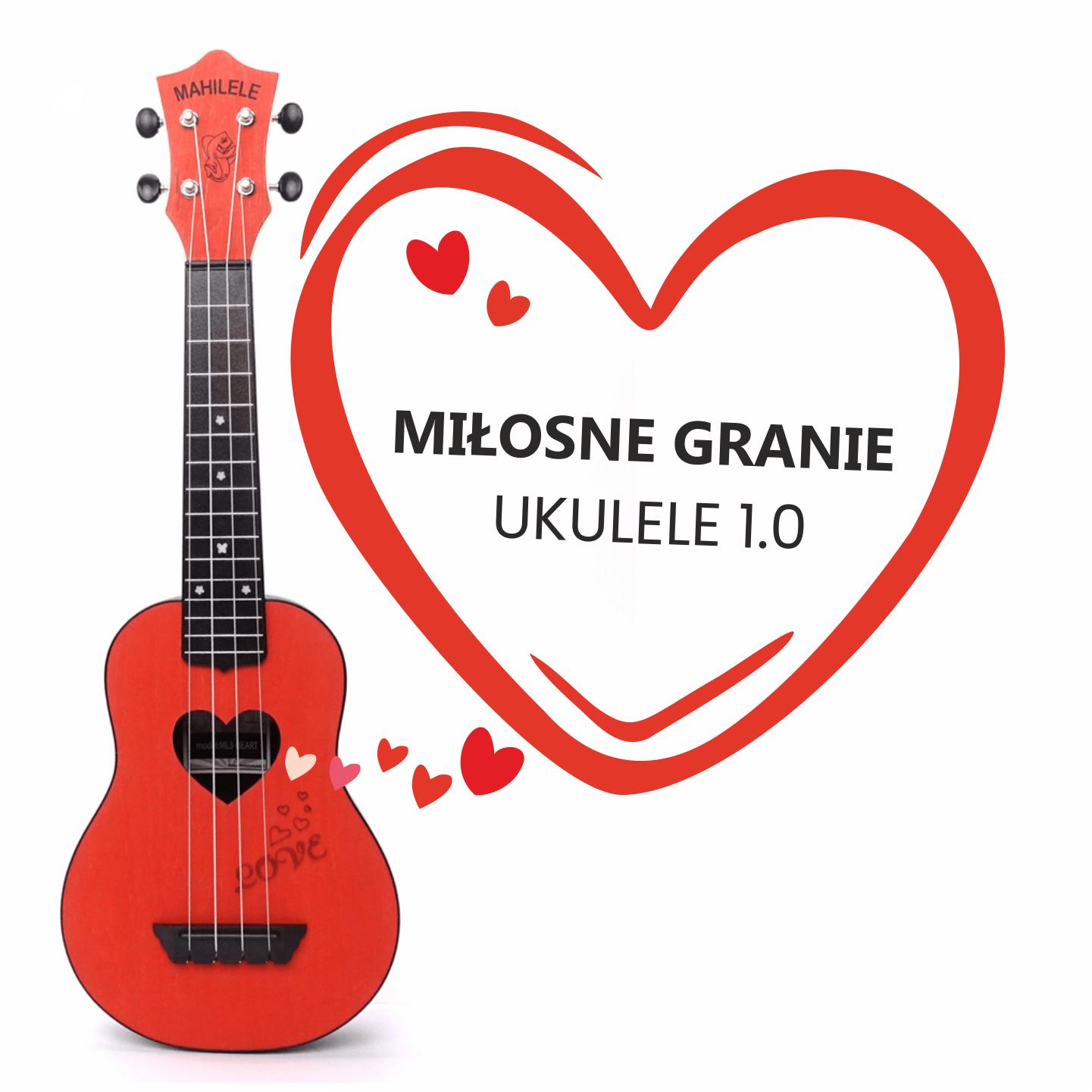 miłosne granie ukulele